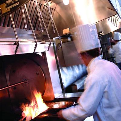 Пожарная безопасность людей в ресторанах
